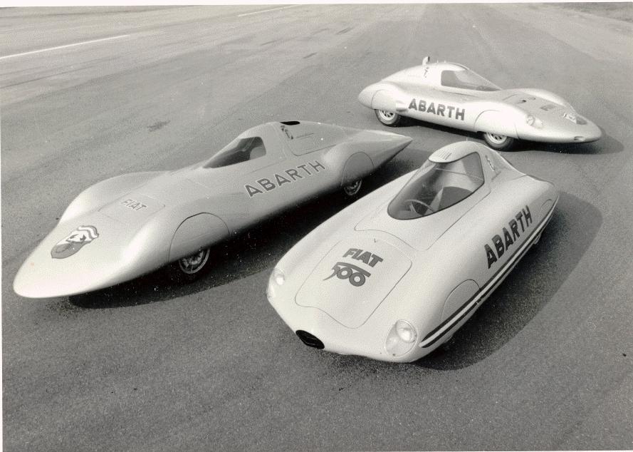 1960 Abarth Monoposto Da Record Pininfarina Студии