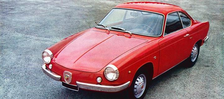 1959 Abarth 850 Coupe Scorpione Allemano Studios