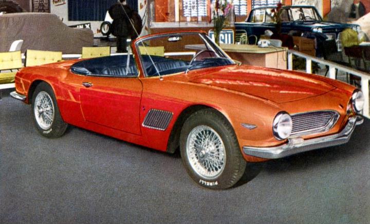 1962 Fiat 2500 Ss Moretti Studios