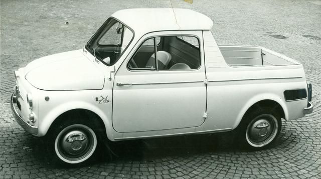 Fiat 500 Ziba Ghia 1962