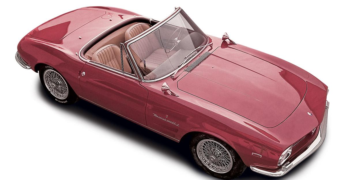 1963 Maserati 3500 GTI Spider (Vignale) - Studios