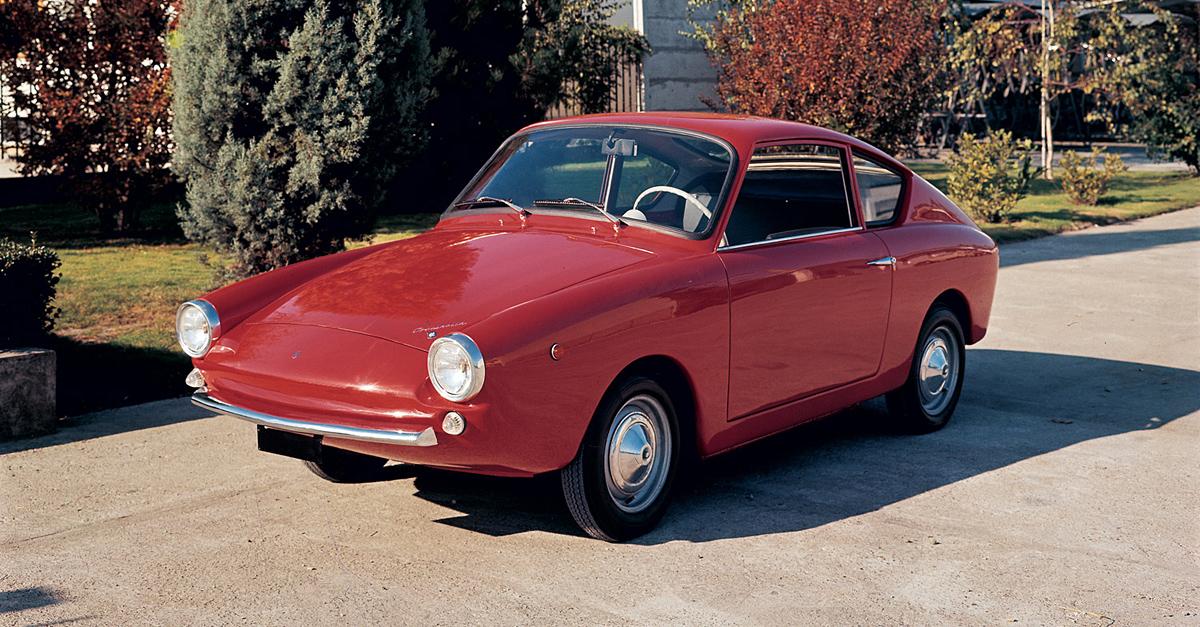 1964 Fiat 500 Coccinella Francis Lombardi Studios