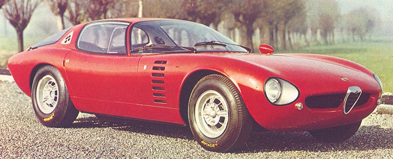 1964 Alfa Romeo Canguro Bertone Studios