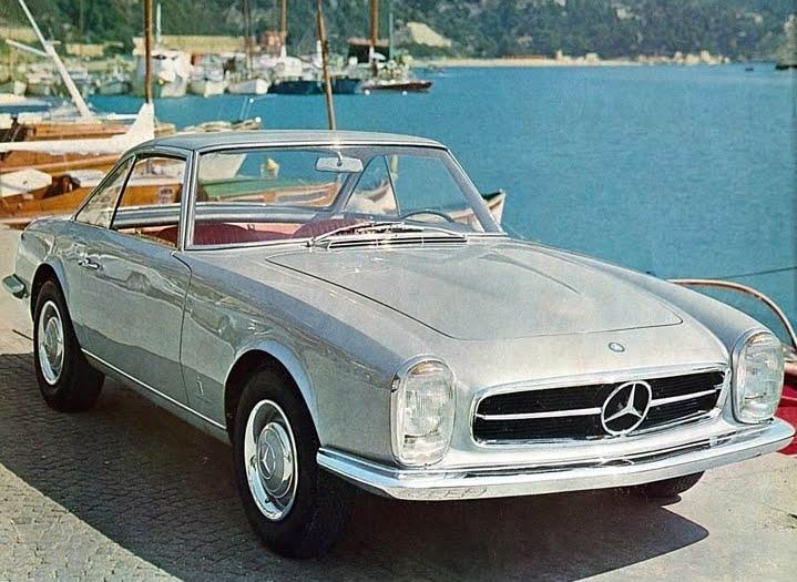 1964 mercedes benz 230 sl coupe pininfarina studios for Mercedes benz 230sl