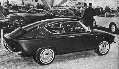 1964 Fiat 850 Z Coupe (Zagato) - Studios