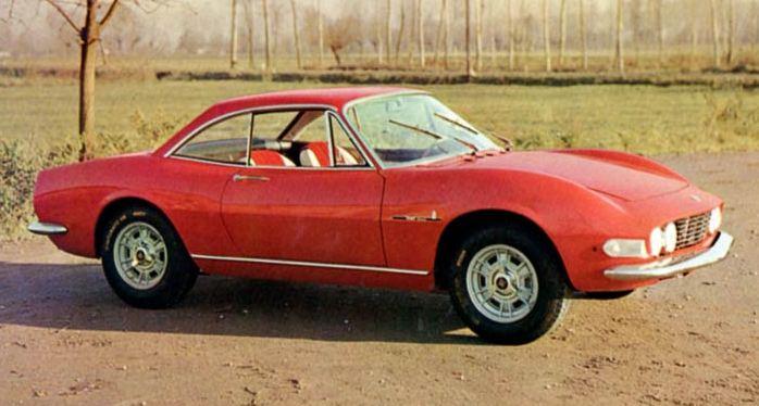 1966 Fiat Dino Speciale Prototipo Pininfarina Студии