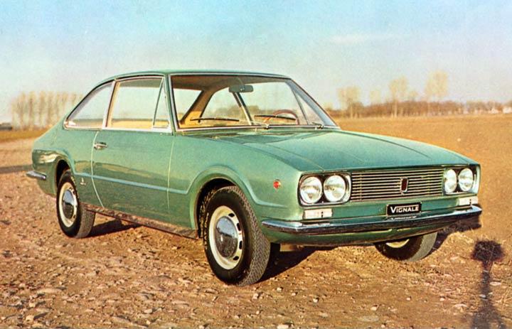 1967 Fiat 124 Coupe Eveline (Vignale)