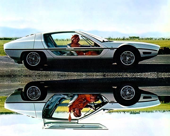 1967 Lamborghini Marzal (Bertone) - Studios