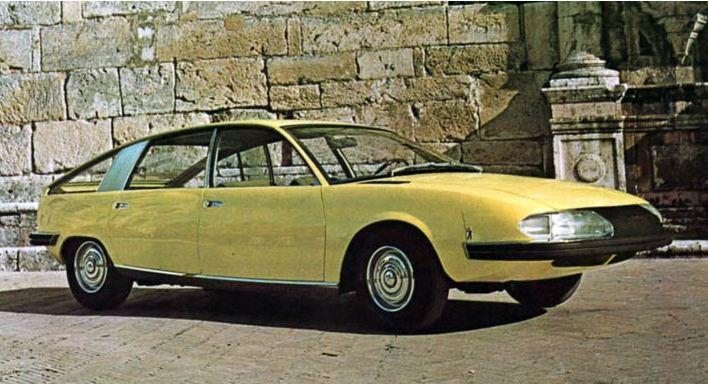1967 Pininfarina Bmc 1800 Berlina Aerodinamica Ateliers