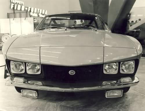 1967 Fiat 125 Gtz Zagato Studios