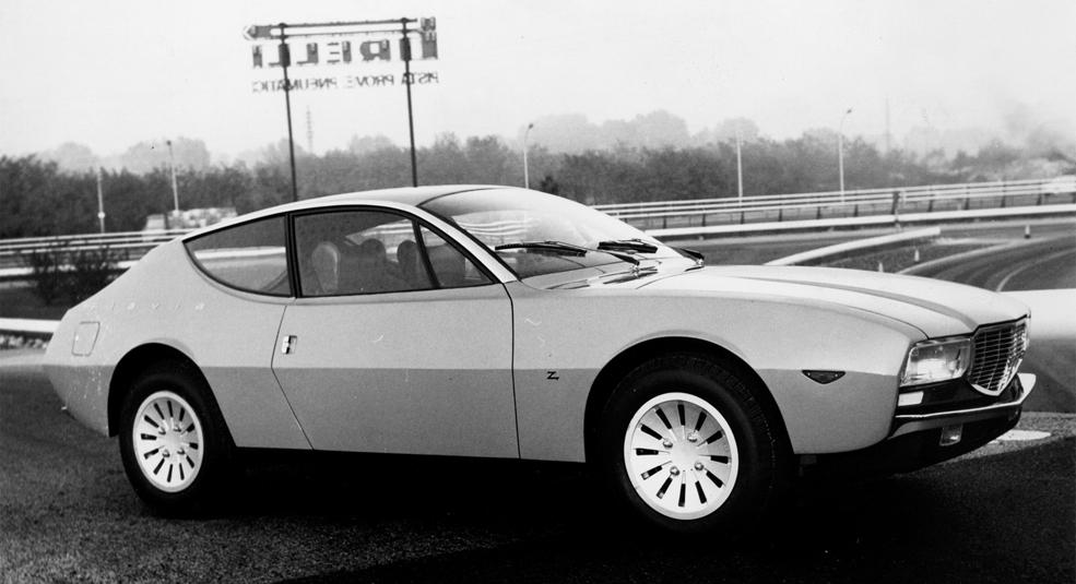 1967 Lancia Flavia Super Sport (Zagato) - Studios