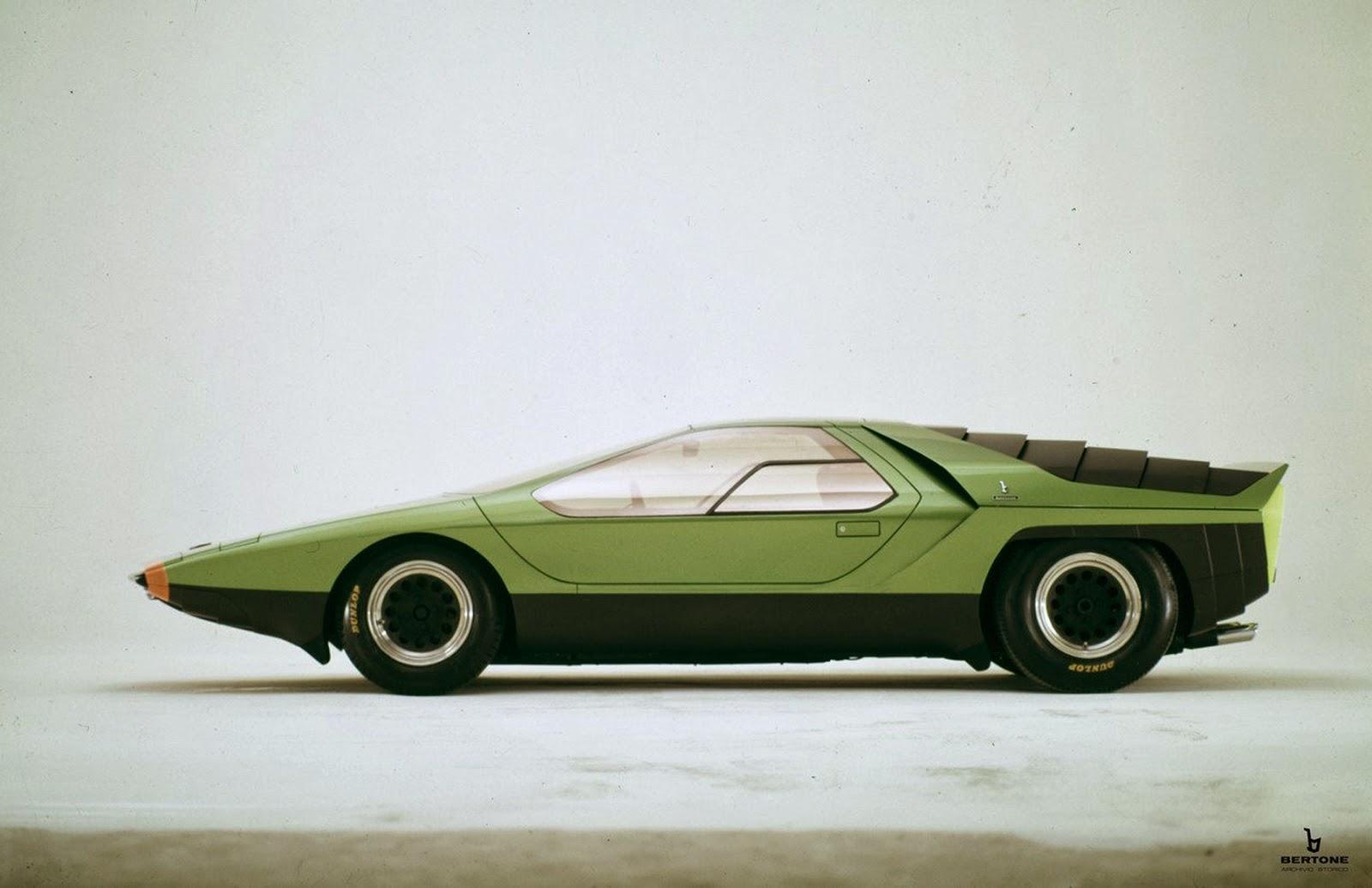 1968 Alfa Romeo Carabo (Bertone) - Studios