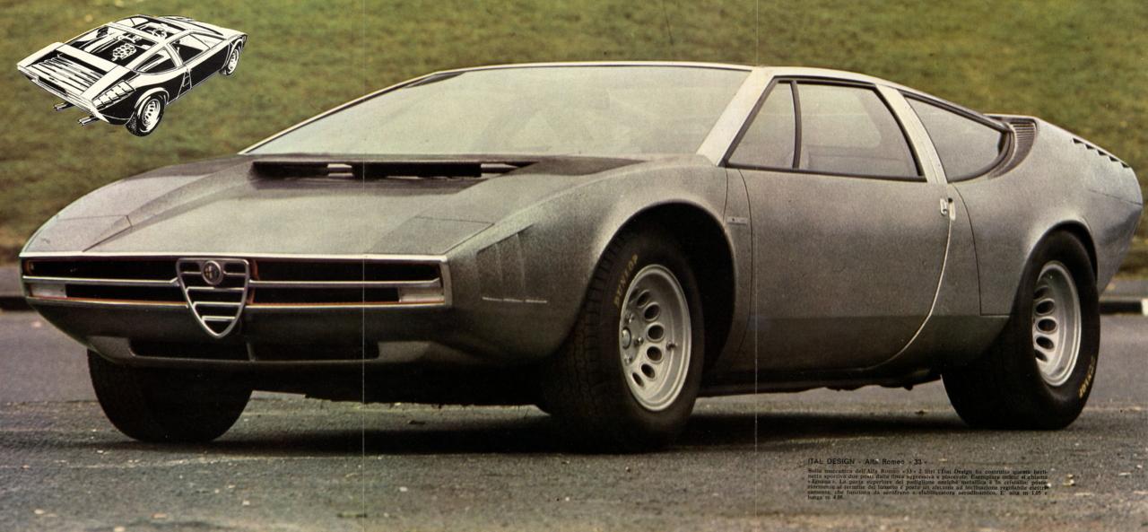 1968 Alfa Romeo 33 Iguana (ItalDesign) - Studios
