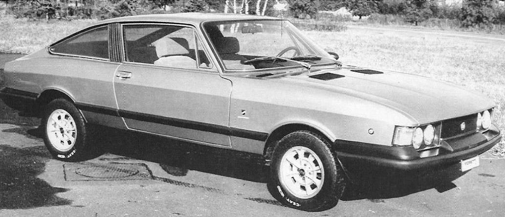 1969 Fiat 128 Moretti Studios