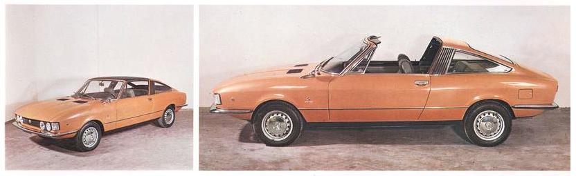Fiat 128 Roadster (Moretti), 1969