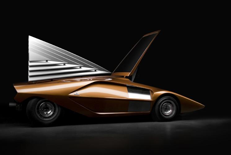 Lancia Stratos Zero (Bertone), 1970 - Photo: Piotr Degler Jablonski