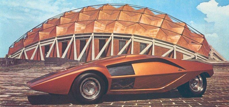 Lancia Stratos Zero (Bertone), 1970