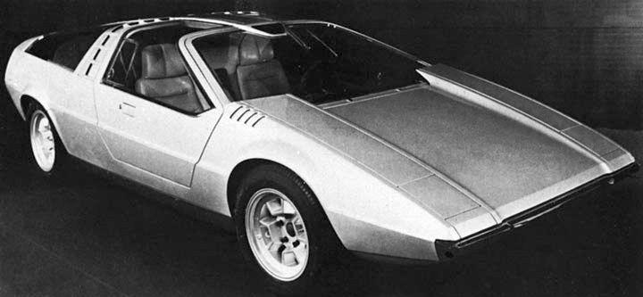 1970 Porsche Tapiro (ItalDesign) - Studios: www.carstyling.ru/en/car/1970_porsche_tapiro/images/25590