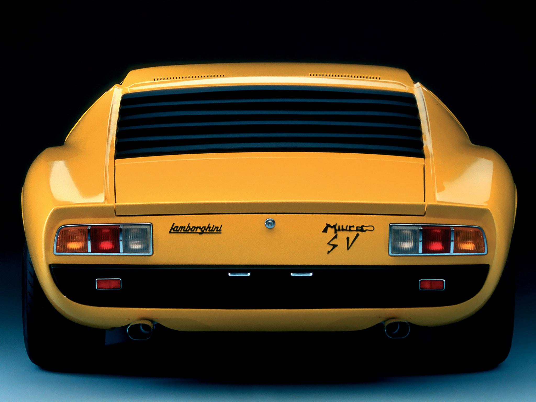 1966 Lamborghini Miura Bertone Studios