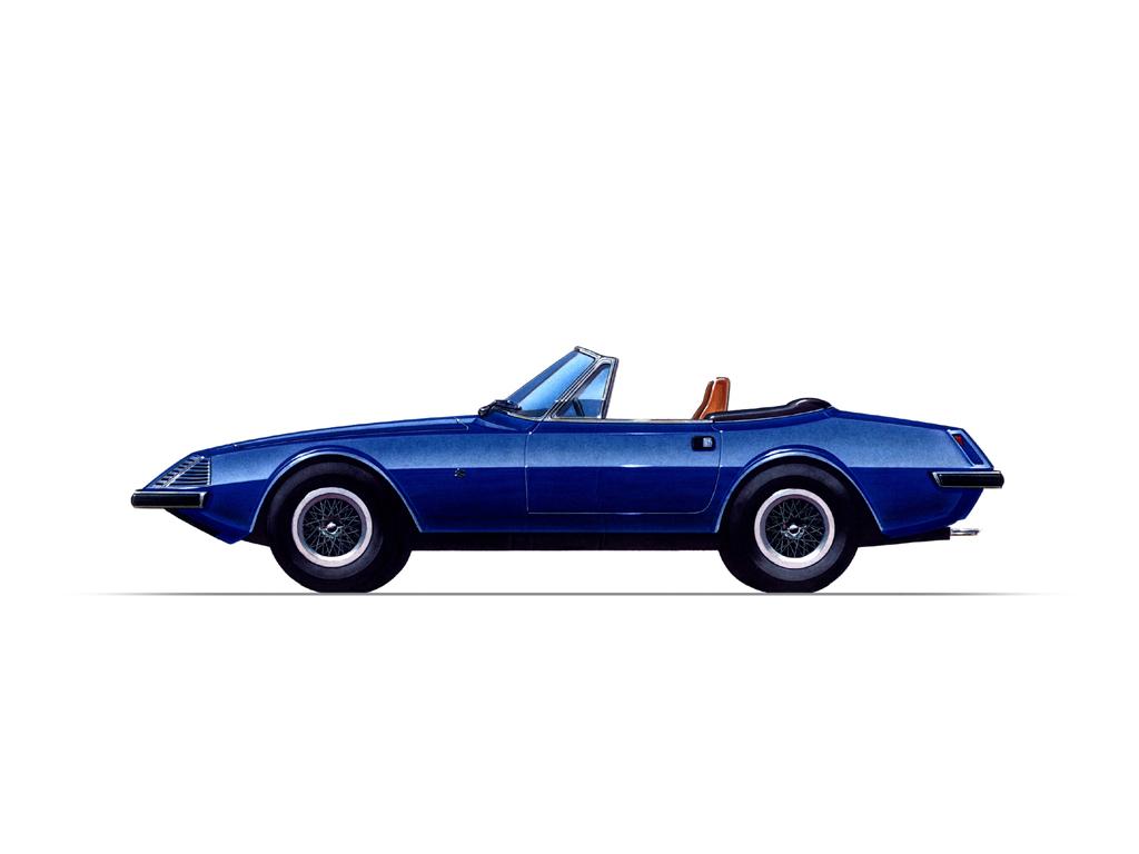 1971 Ferrari 3z Spider Zagato Studios