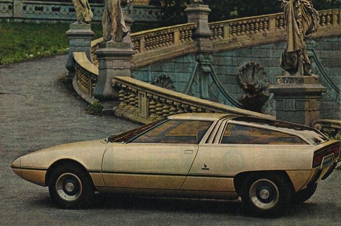 Citroen Camargue (Bertone), 1972