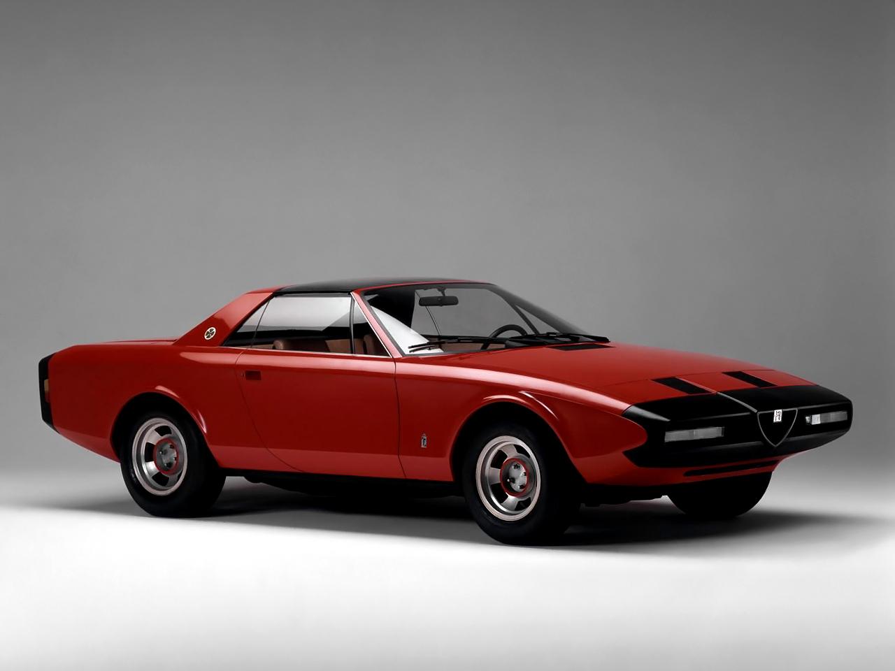 1972 Alfa Romeo Alfetta Spider Pininfarina Studios