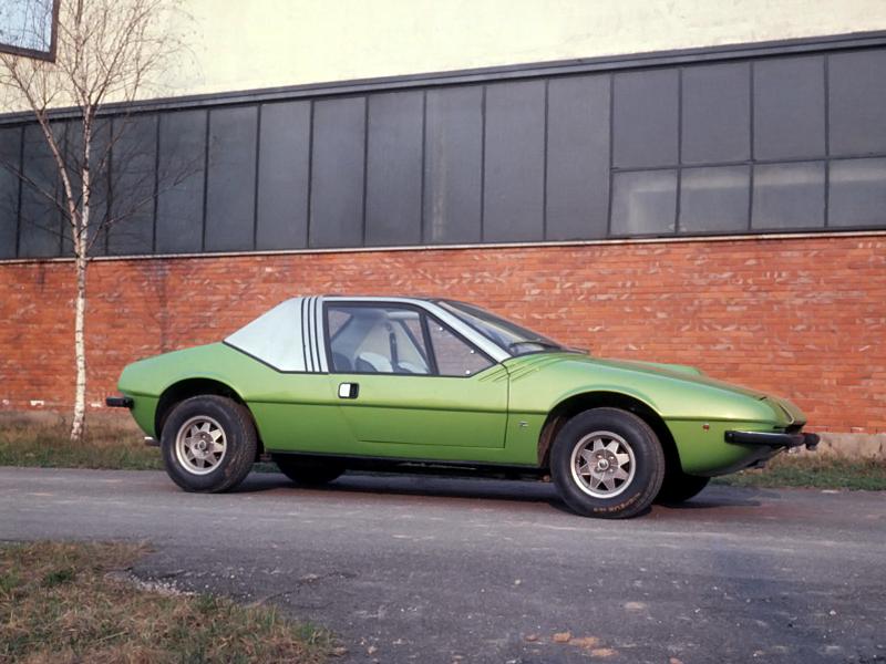 1972 Fiat 132 Aster Zagato Studios