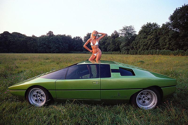 1974 Lamborghini Bravo (Bertone) - Studios