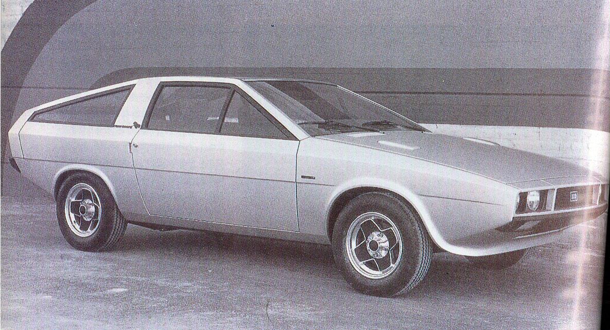 1974 hyundai pony coupe italdesign