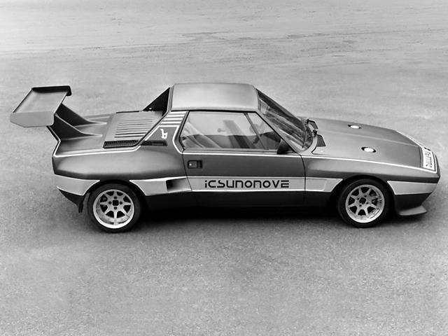 1975 Fiat X1 9 Dallara Bertone Studios
