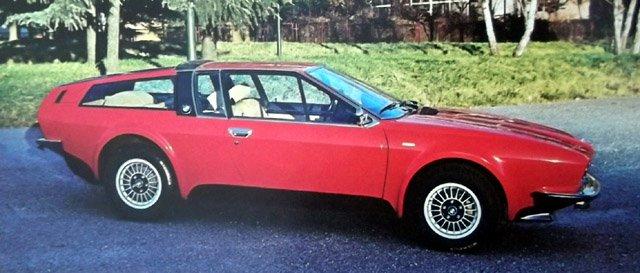 1976 Bmw 528 Gt Coupe Frua Studios