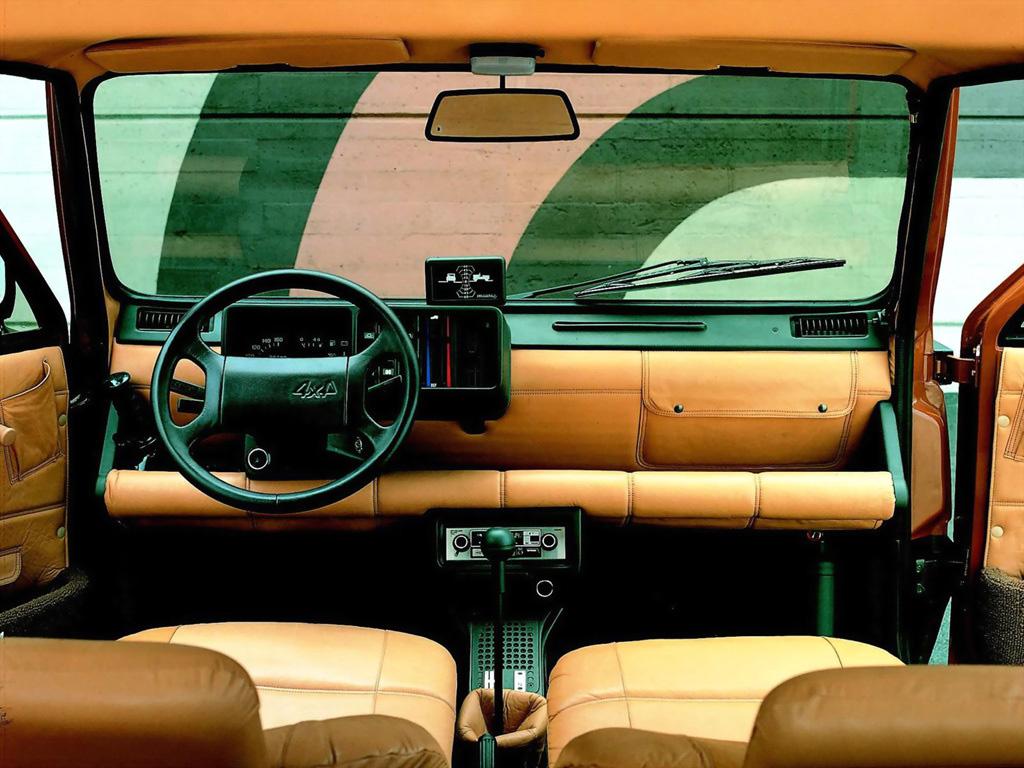 1980 Fiat Panda 4x4 Offroader/Strip (ItalDesign) - Ateliers