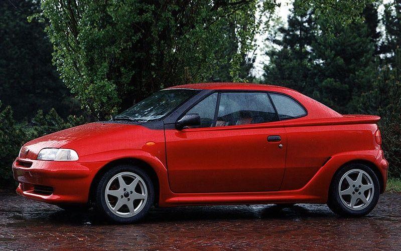 Les concepts cars FIAT des années 90 - Bravo, brava etc.. 1994_Bertone_Fiat_Punto_Racer_01
