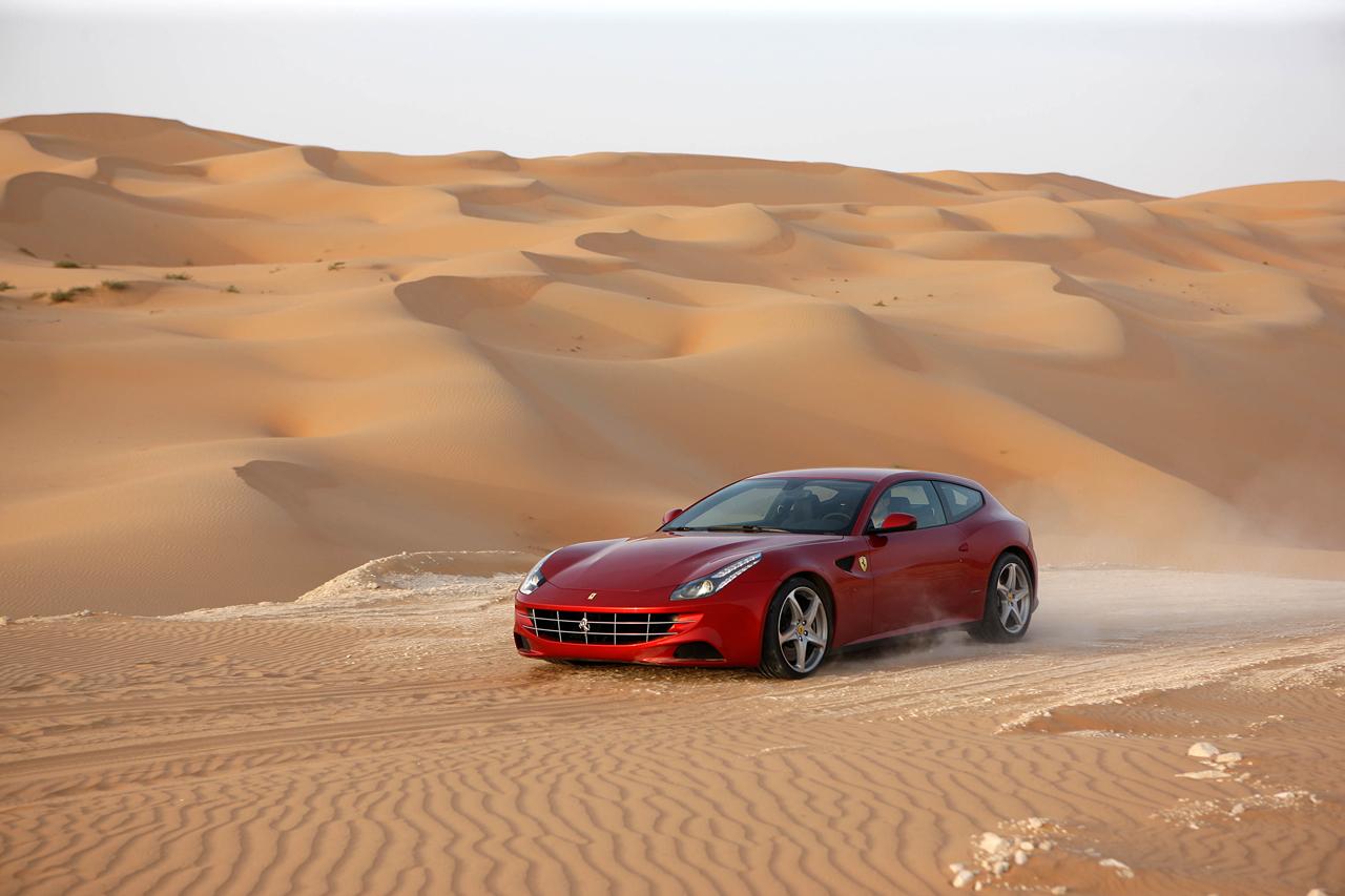 2011 Ferrari FF (Pininfarina) - Milestones