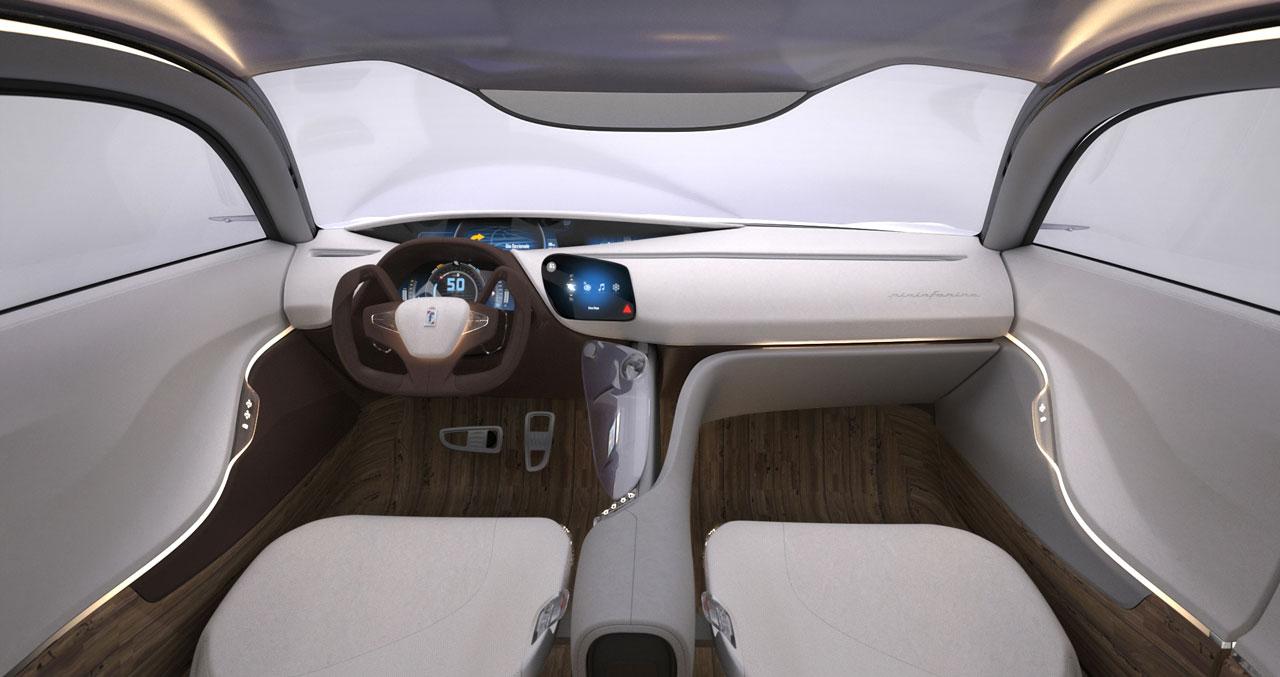 2012 pininfarina cambiano studios for Interior designs auto