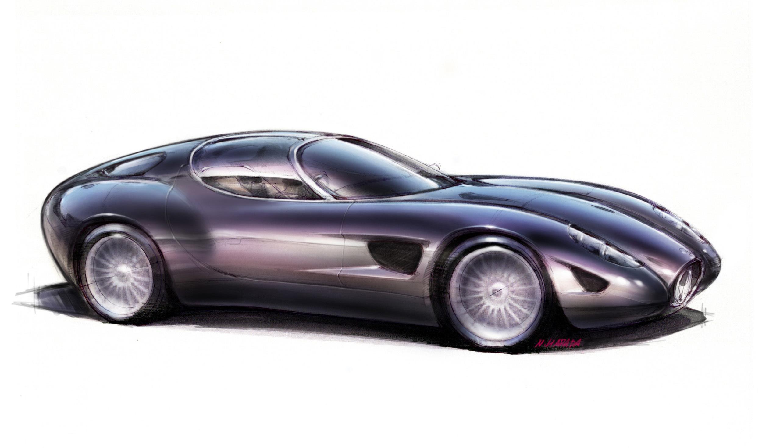 Maserati >> 2015 Maserati Mostro (Zagato) - Studios