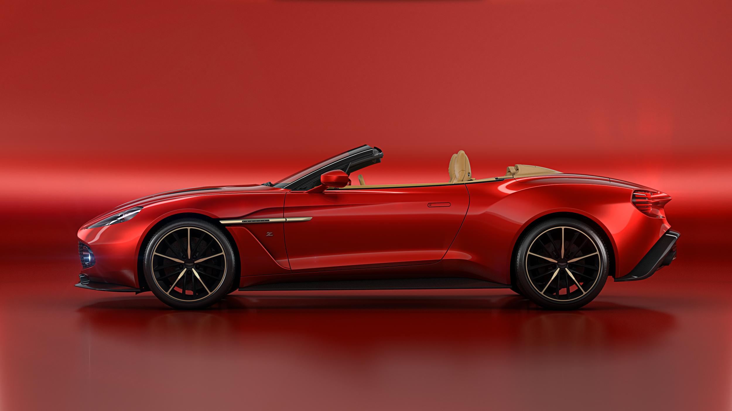 2016 Aston Martin Vanquish Volante Zagato Ateliers