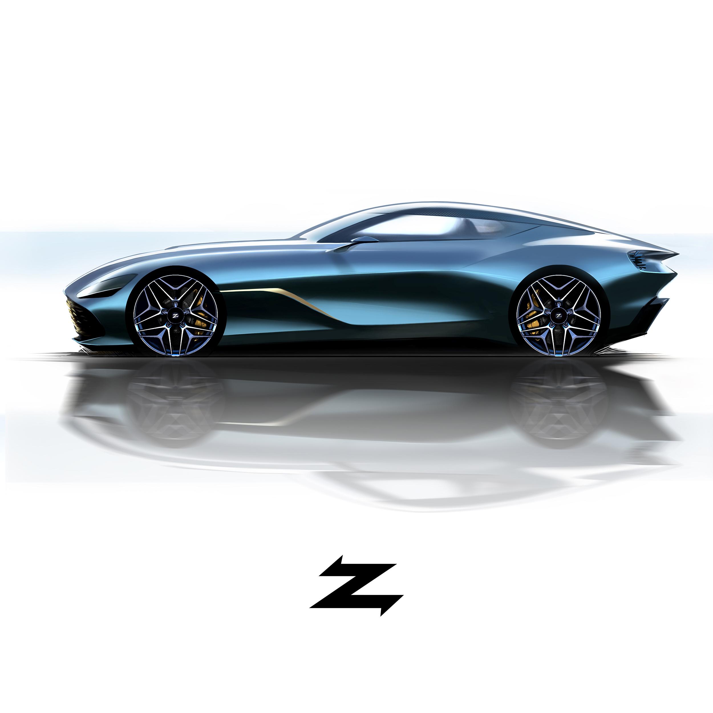 Aston Martin Sketch: 2020 Aston Martin DBS GT (Zagato)