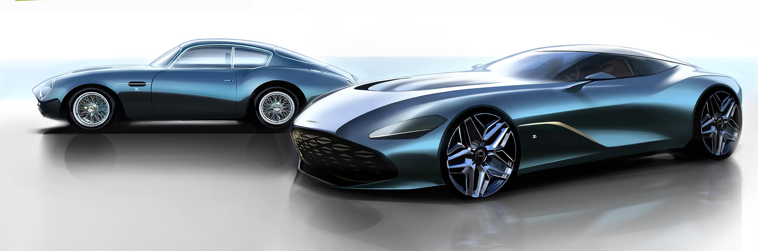 2020 Aston Martin Dbs Gt Zagato Ateliers
