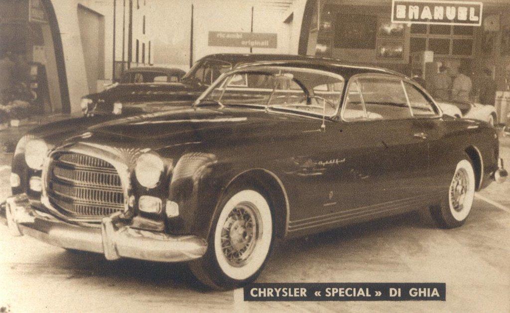 1953 Chrysler Gs 1 Special Ghia Studios