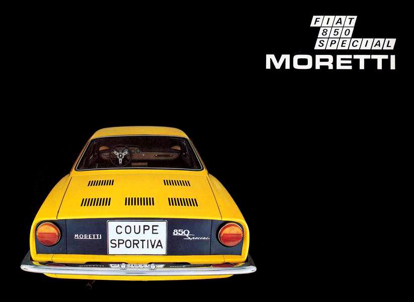 1965 Fiat 850 Sportiva Moretti Studios